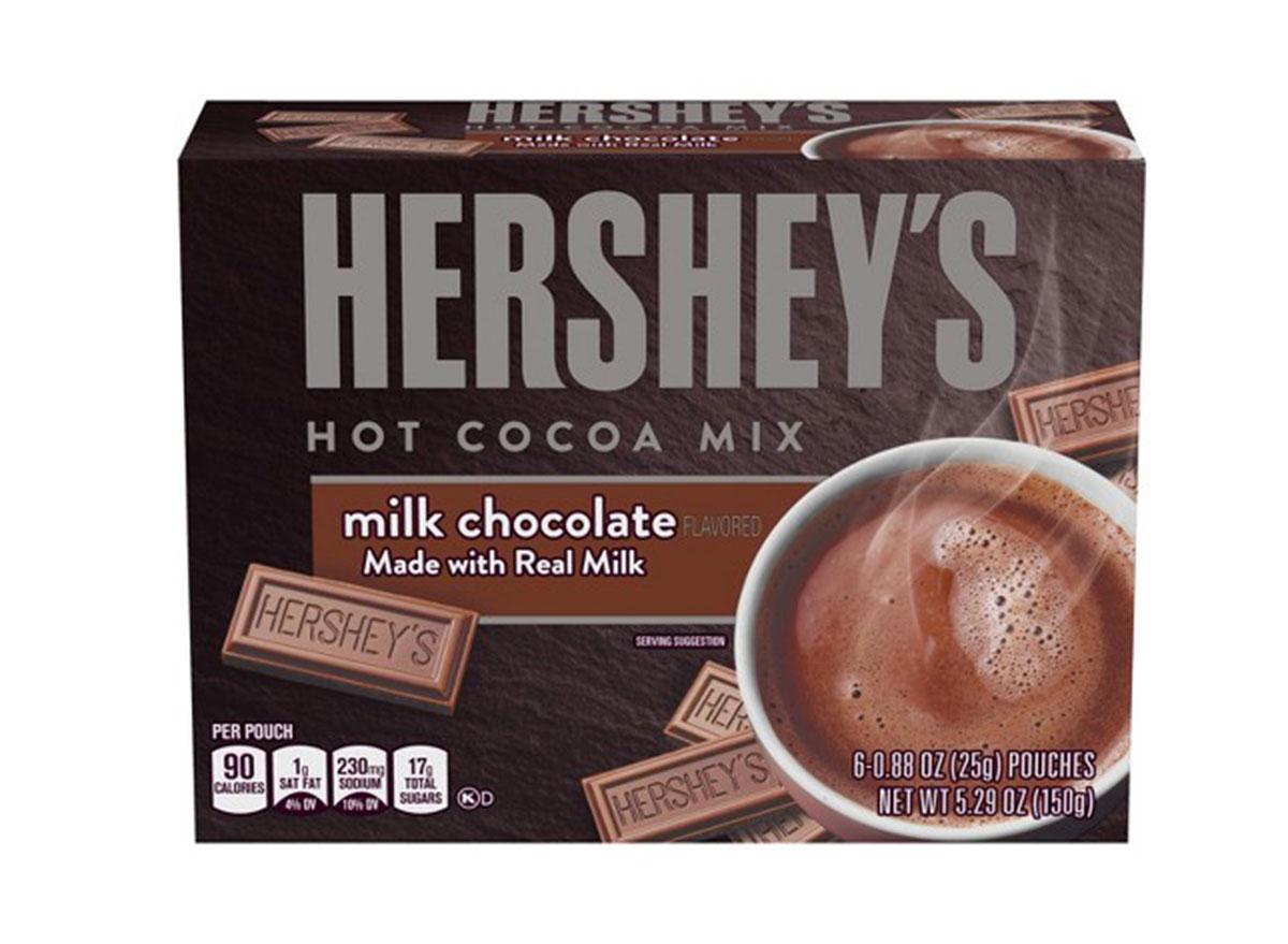 hersheys hot cocoa mix milk chocolate