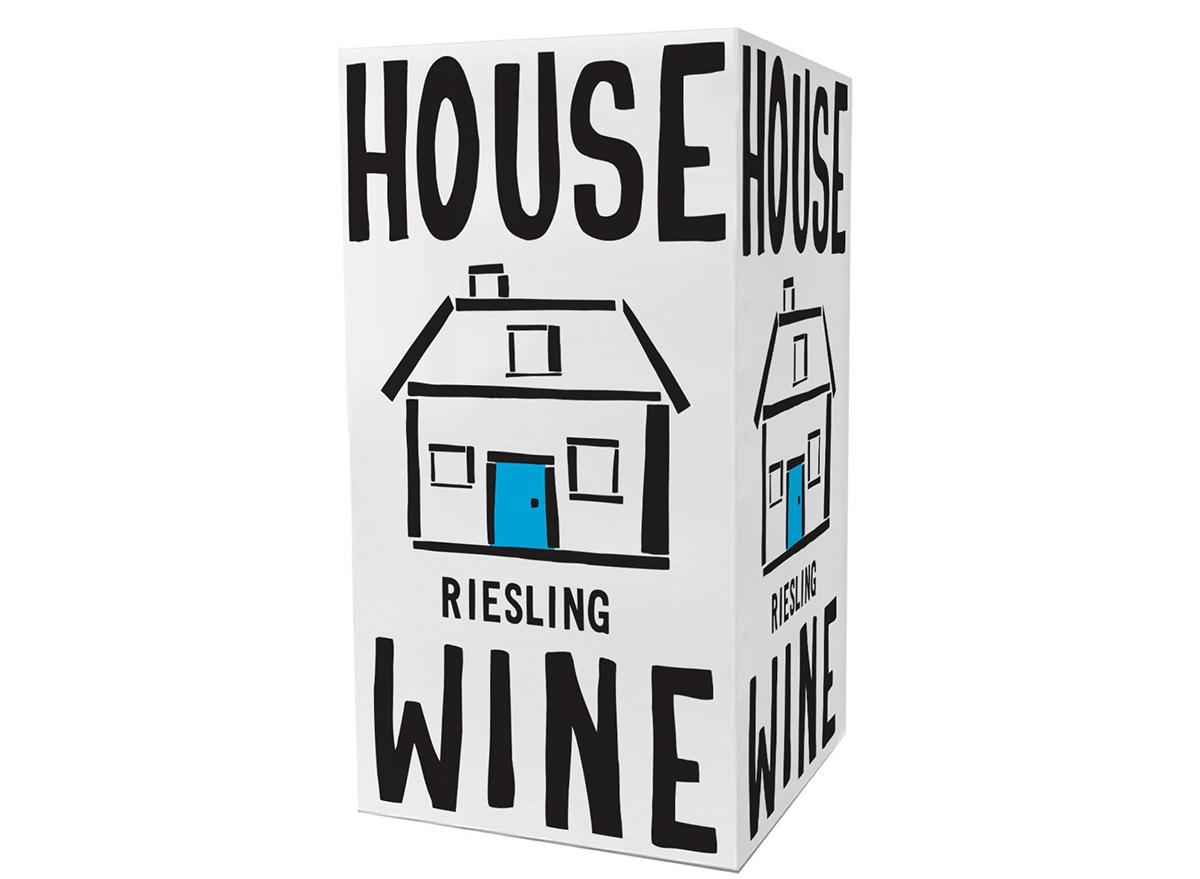 house wine reisling boxed wine