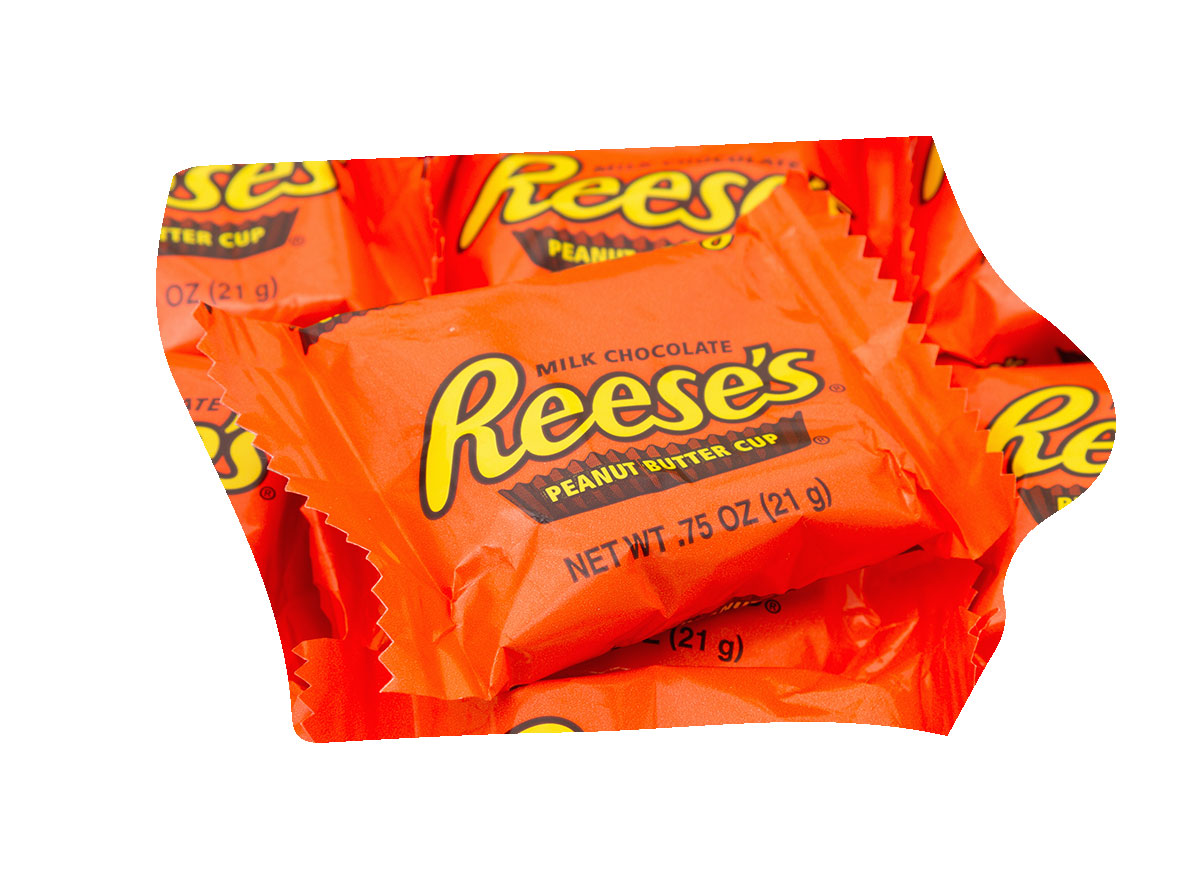 Iowa's favorite candy bar is Reese's Cups