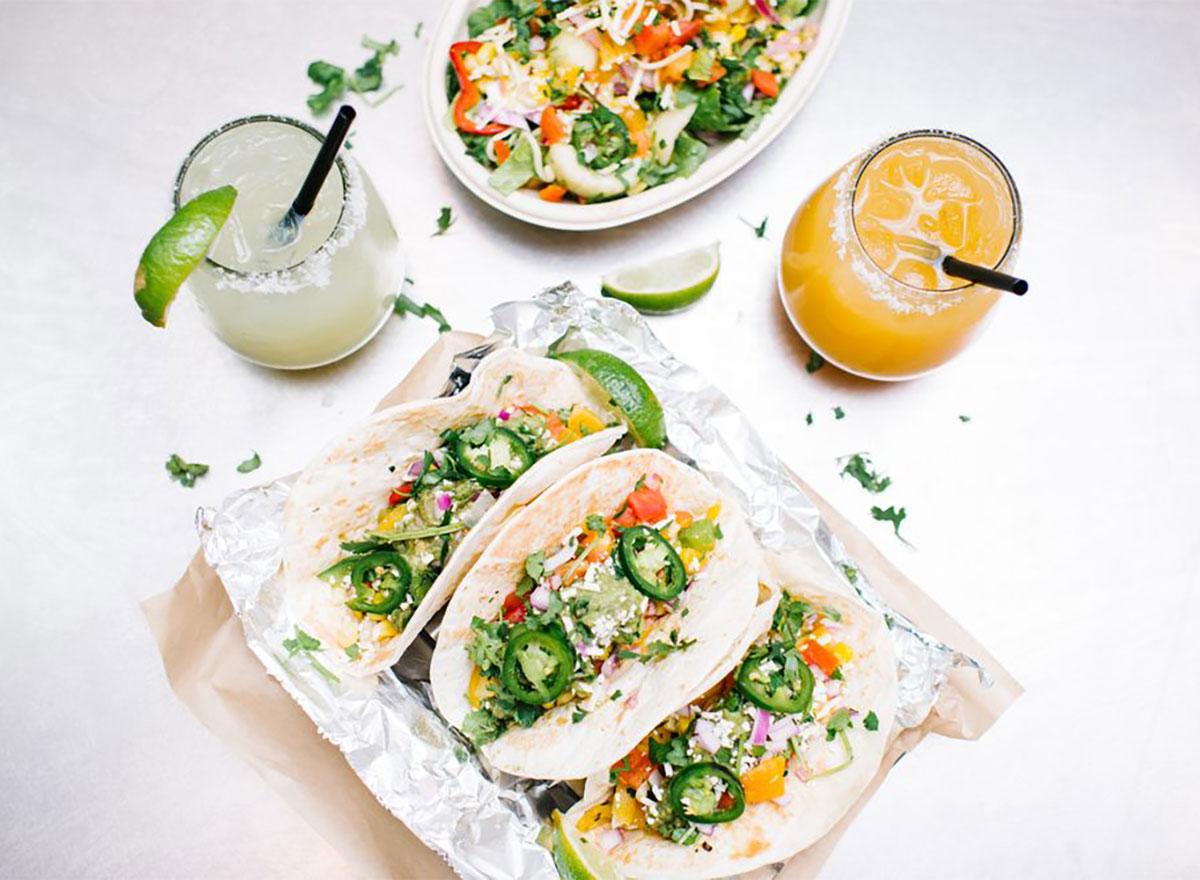 tacos from java burrito company south carolina