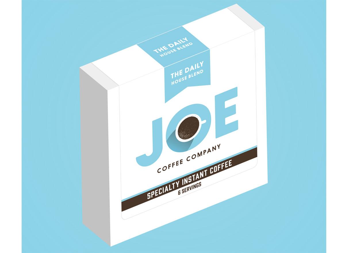 joe coffee company instant coffee