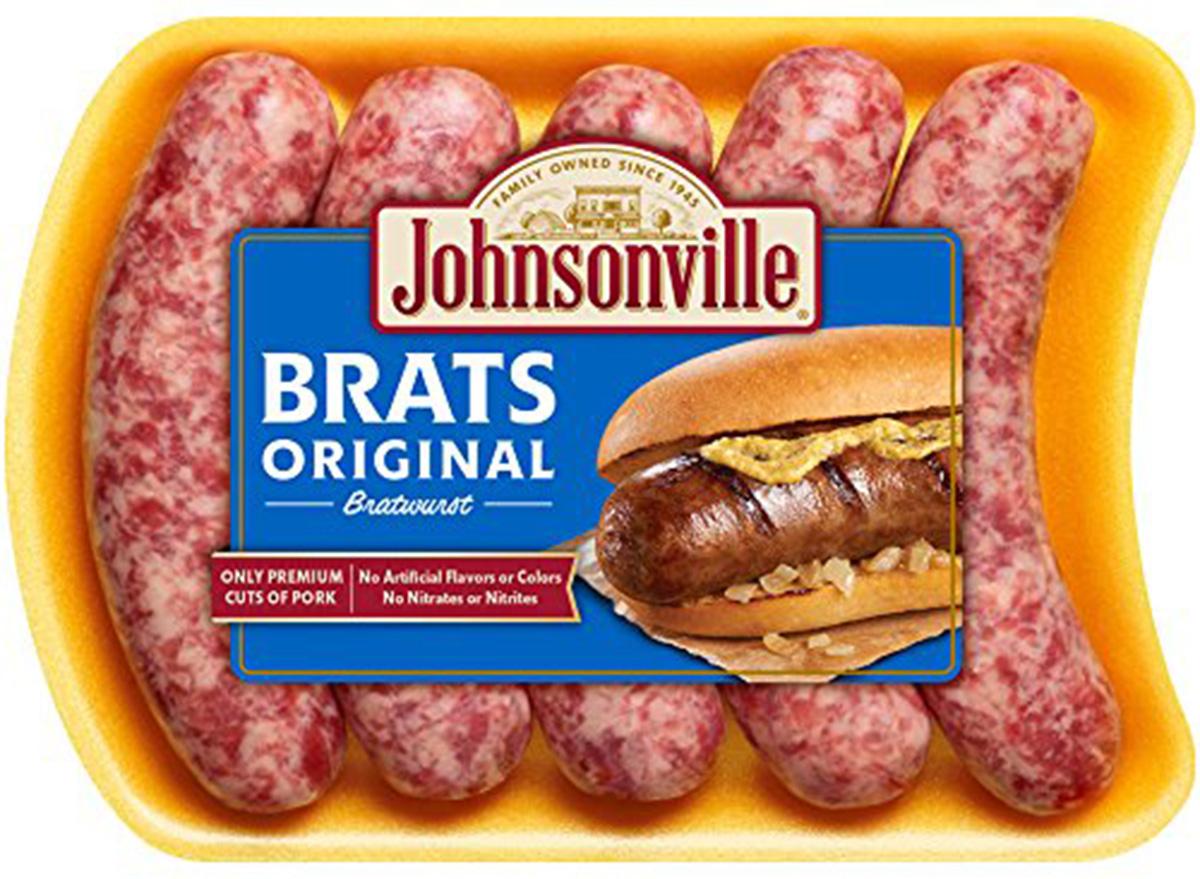 johnsonville sausage brats
