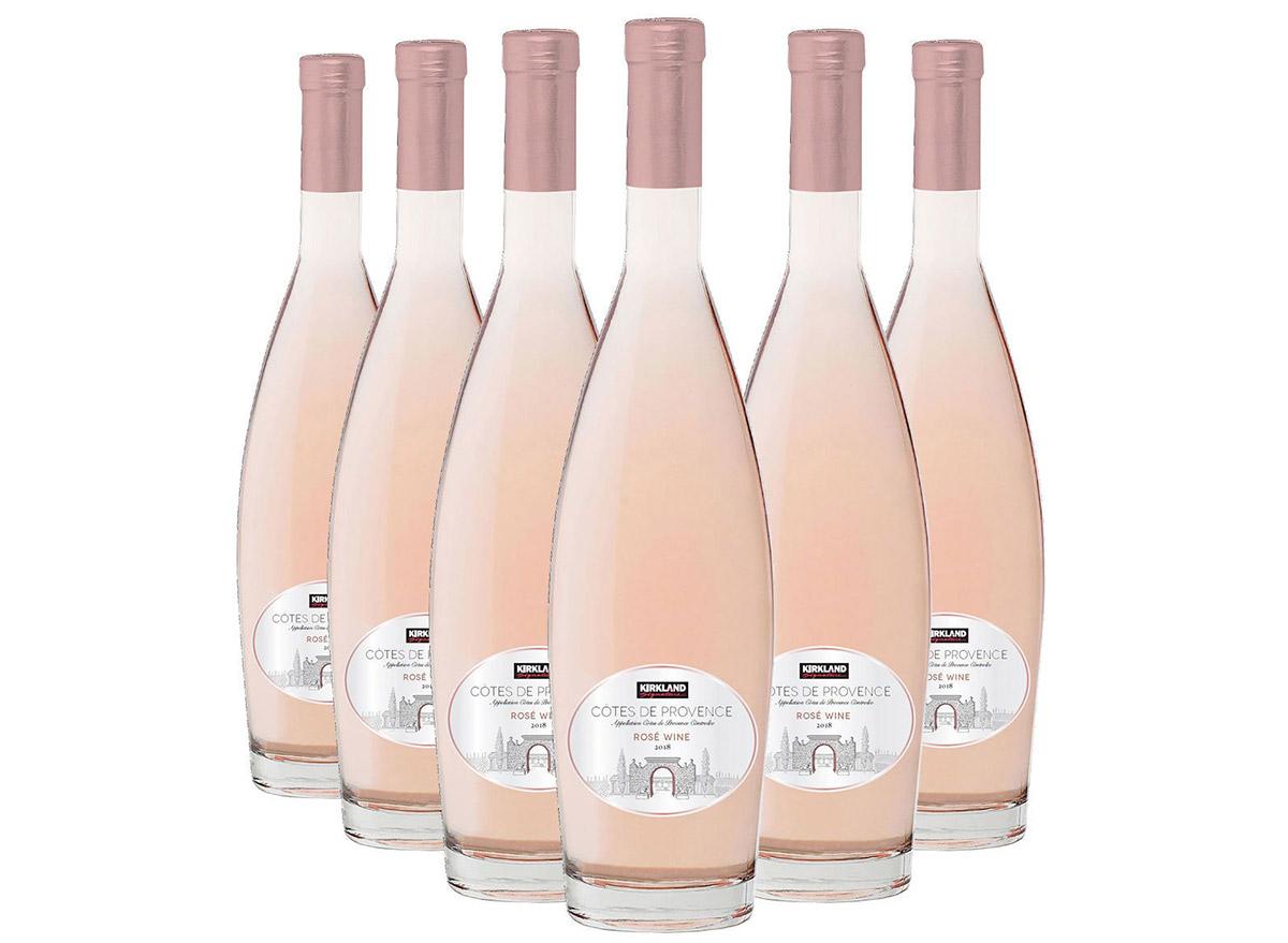 kirkland rose in bottle