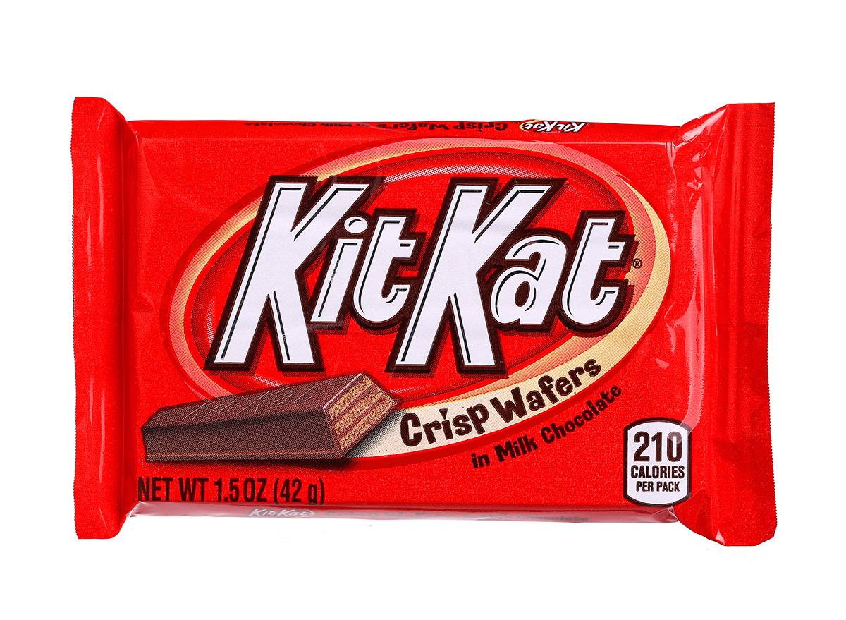 kit kat bar wrapped