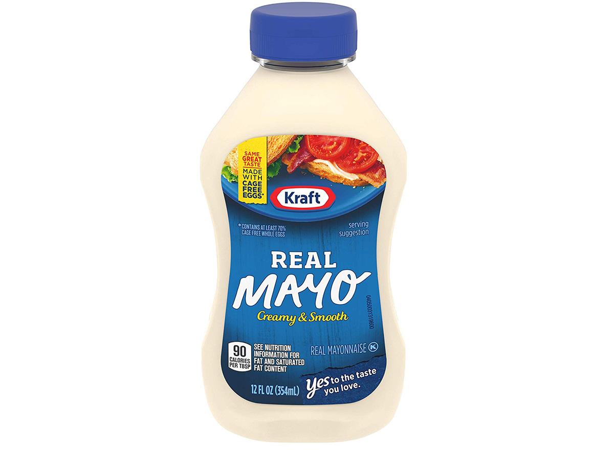 kraft real mayonnaise in packaging