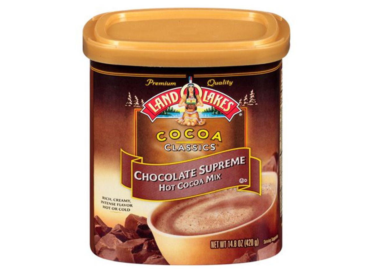 land o lakes chocolate supreme hot cocoa mix