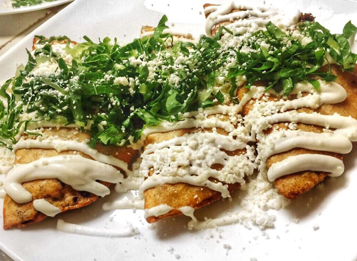 maryland fiesta mexicana fried quesadillas