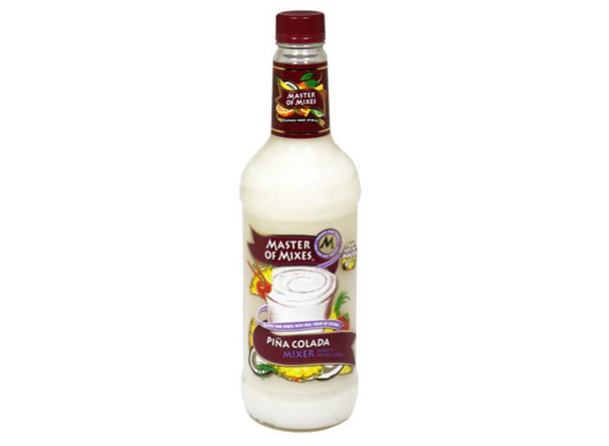 Master of Mixes Pina Colada Mix in bottle