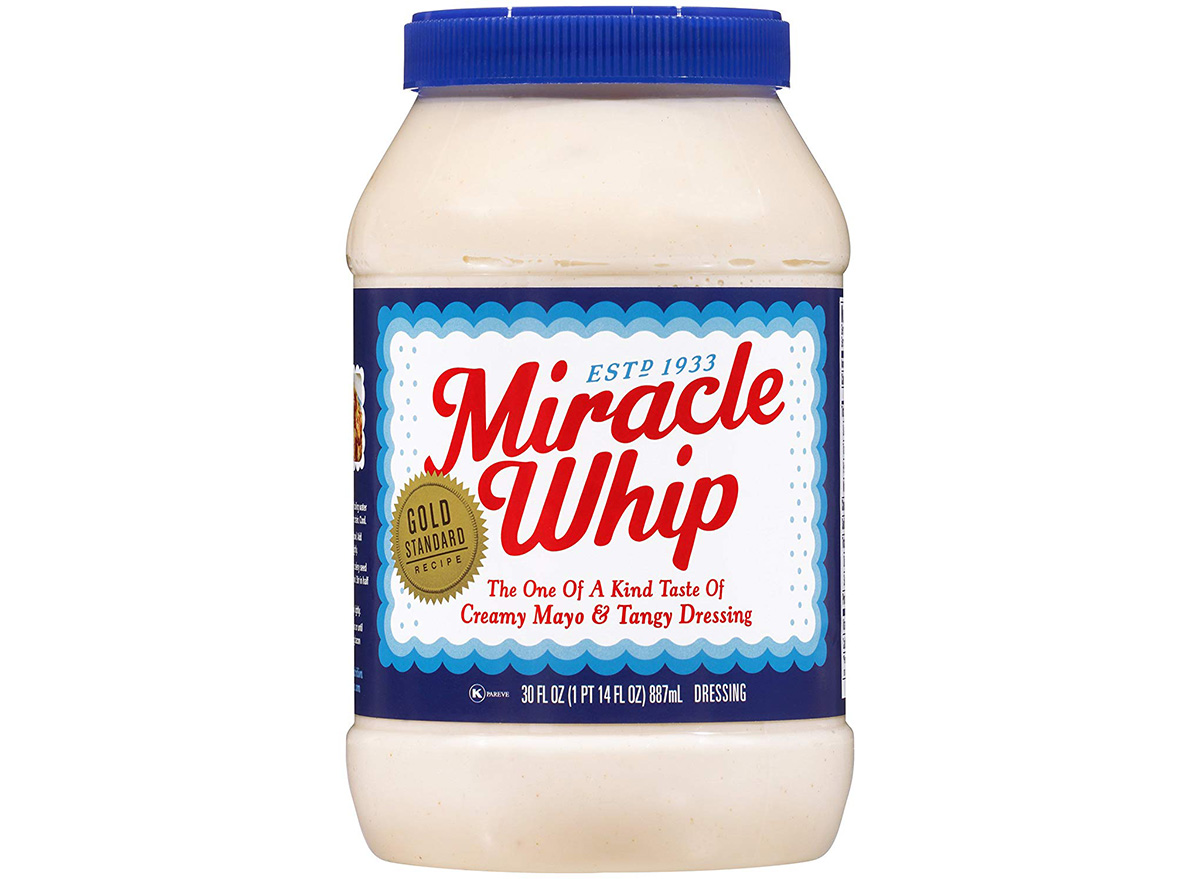miracle whip in packaging