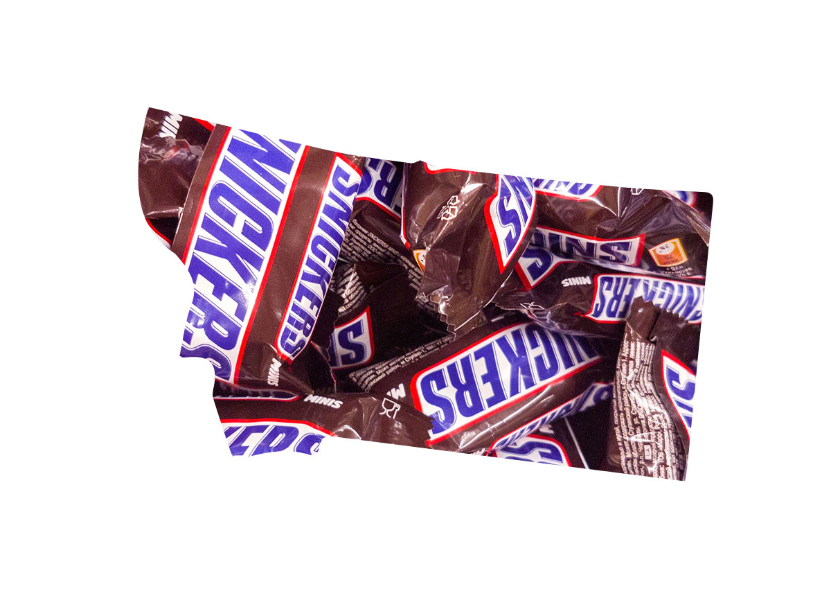 Montana's favorite candy bar is Snickers