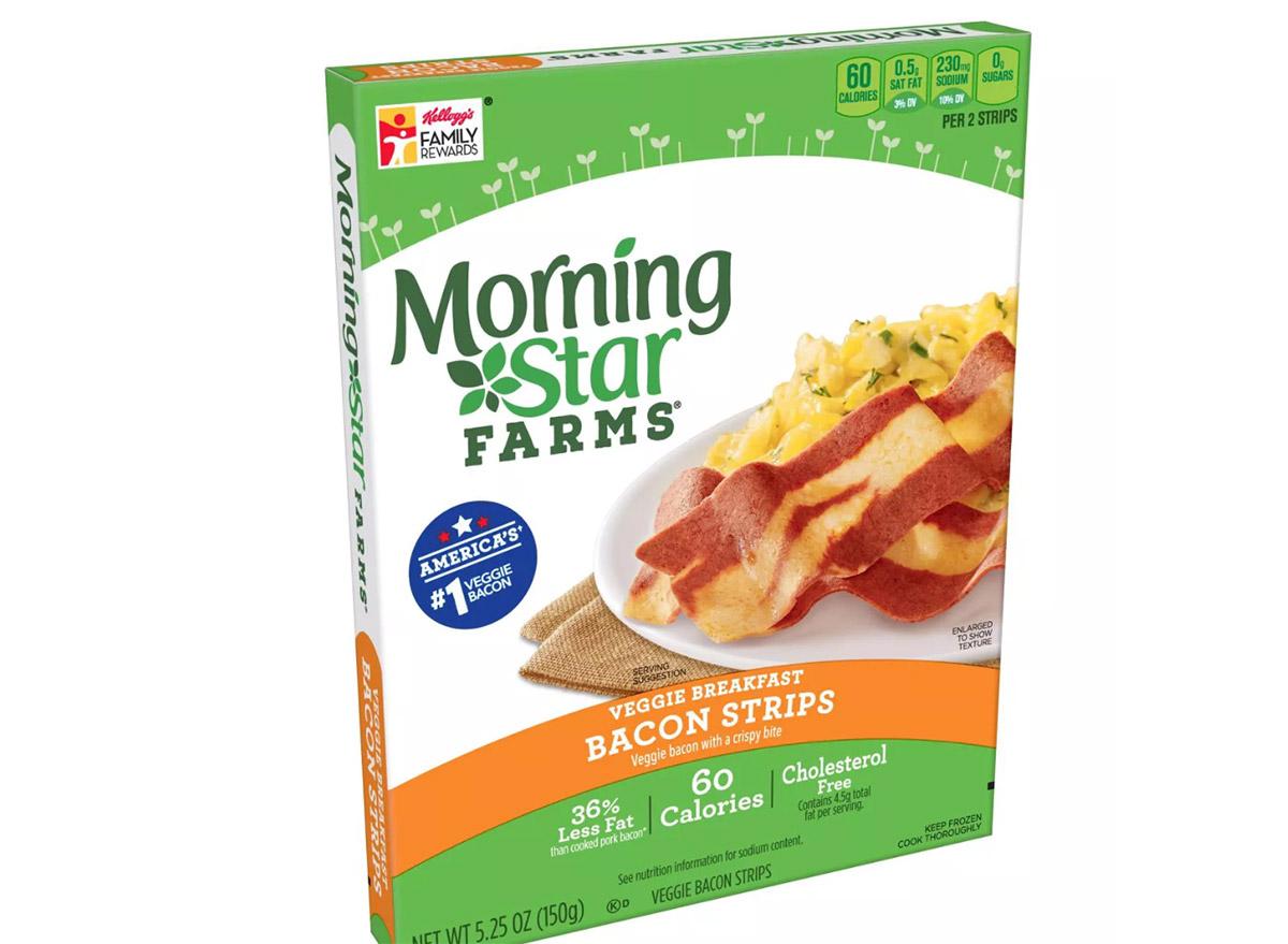 morning star farms bacon strips