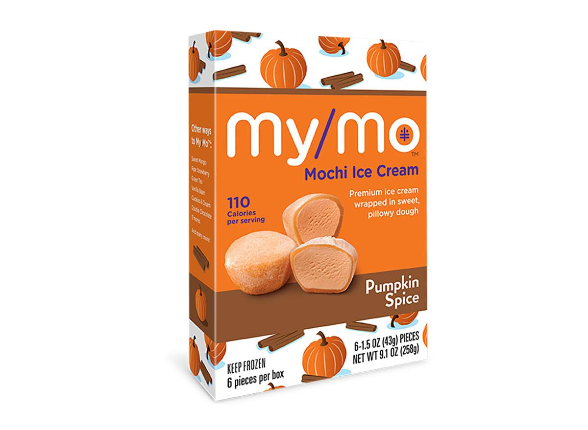 pumpkin spice mochi