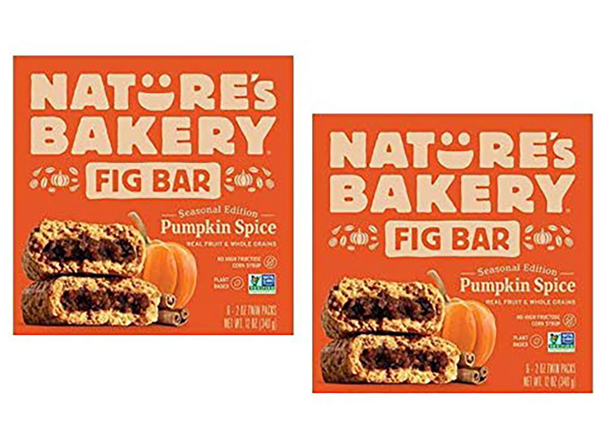natures bakery pumpkin fig bars