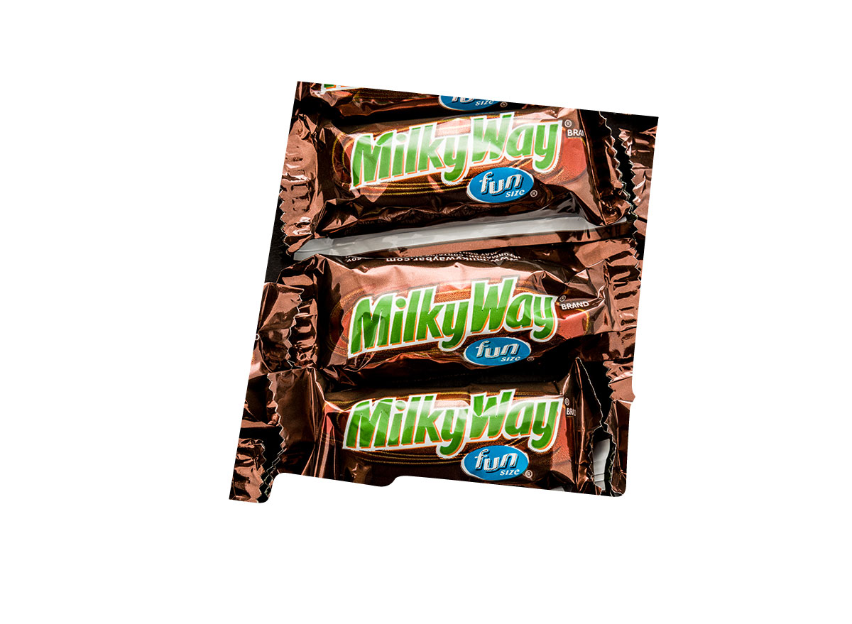 New Mexico's favorite candy bar is Milky Way