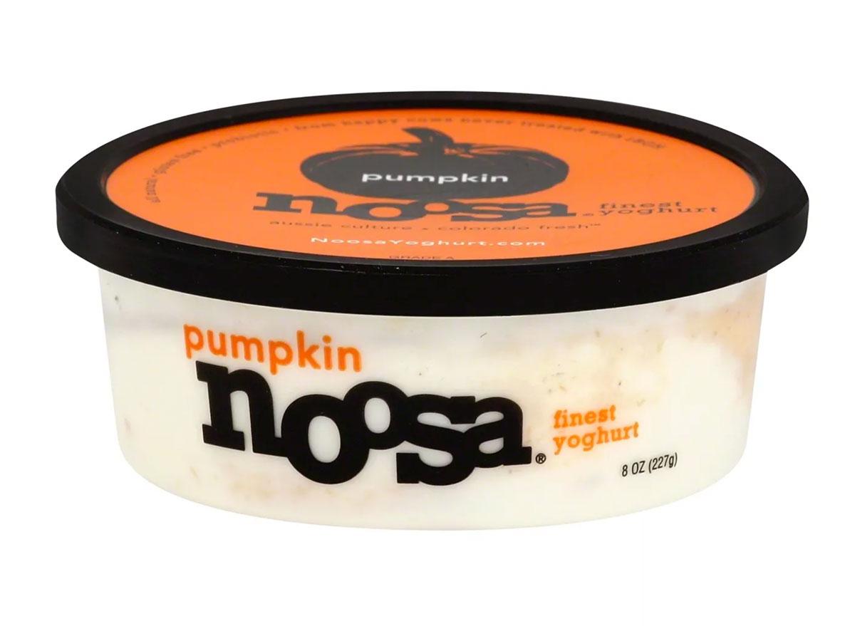 noosa pumpkin yogurt