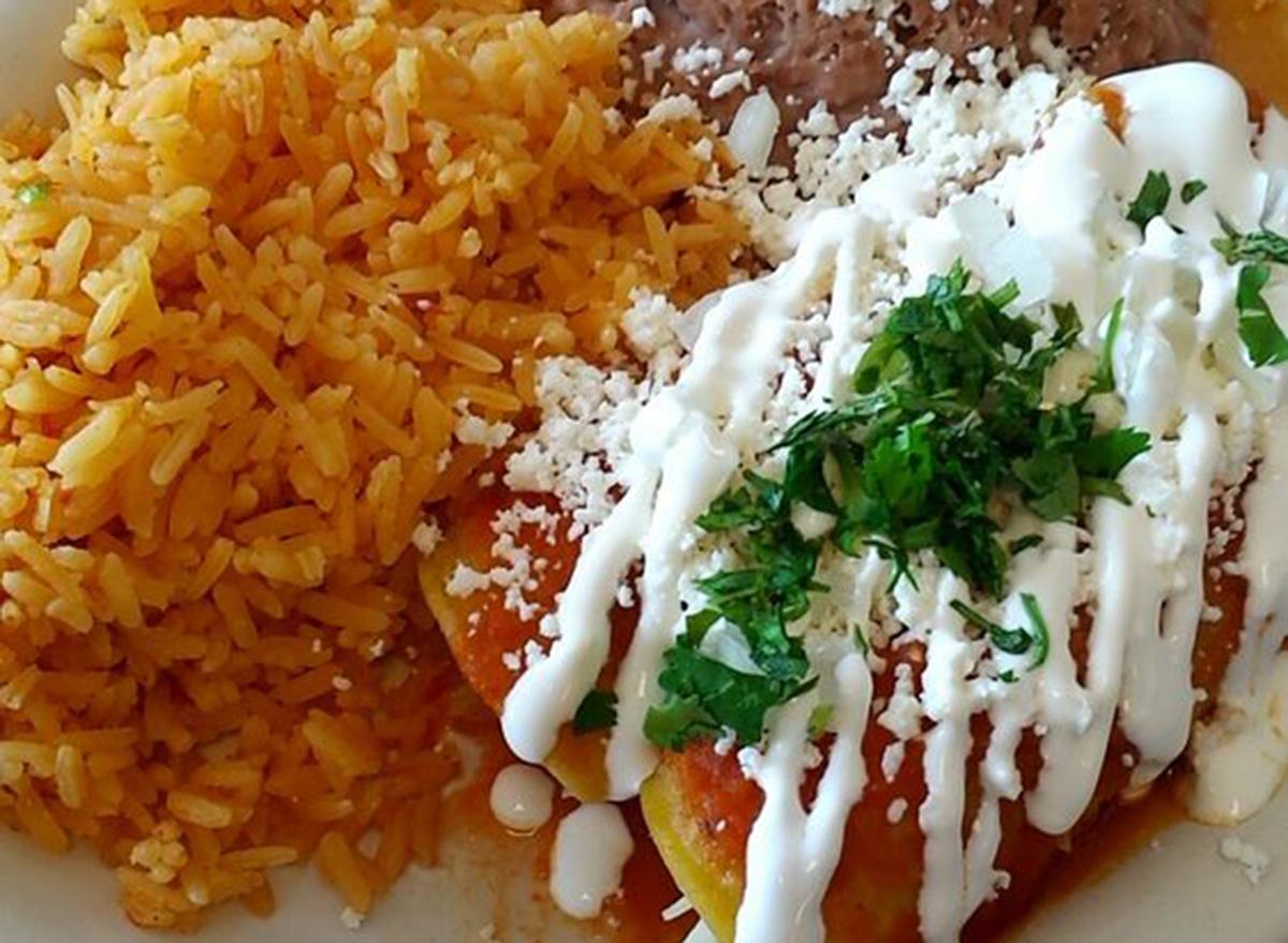 north dakota tacos trompo enchiladas and rice