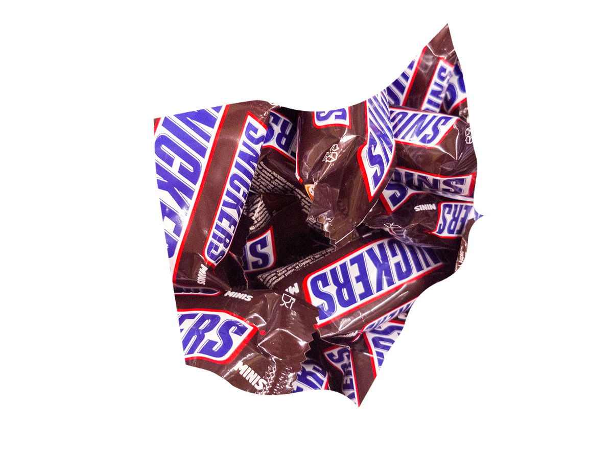 Ohio's favorite candy bar is Snickers