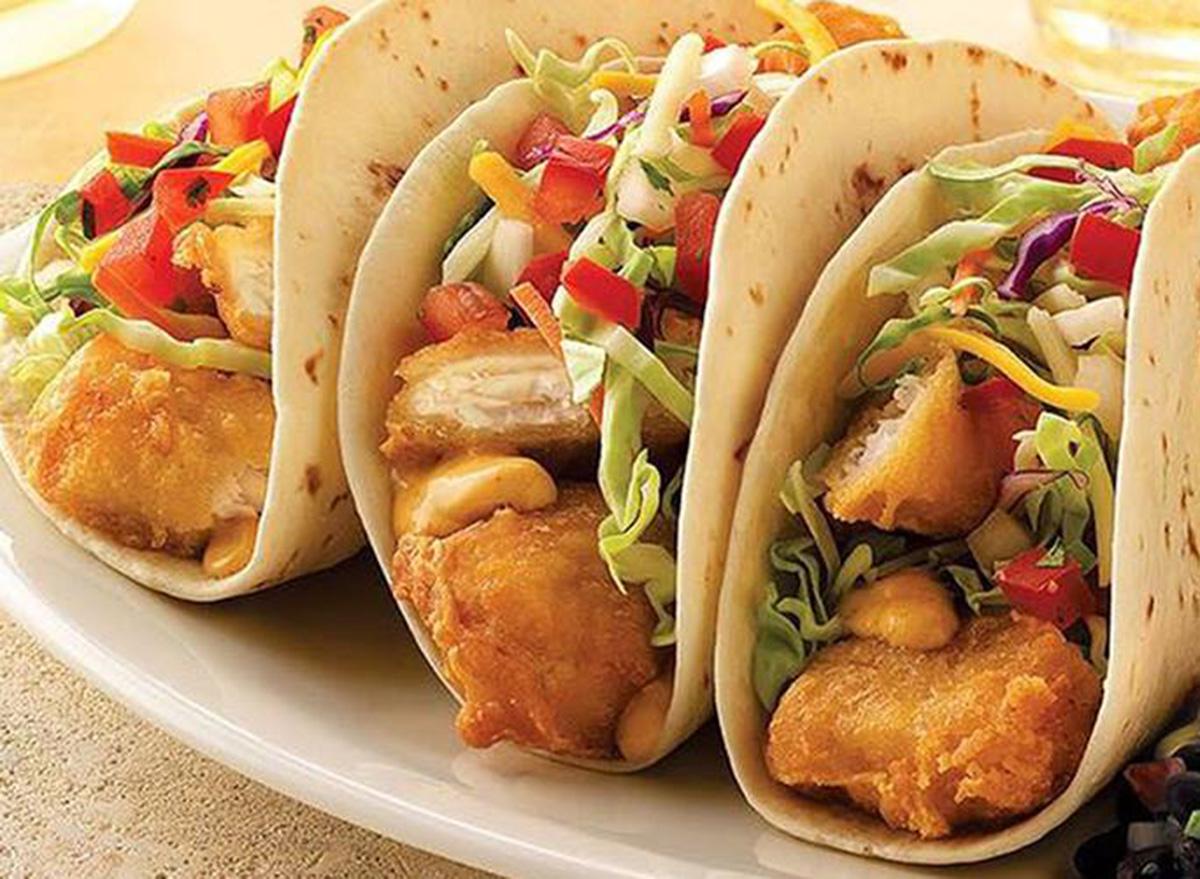 on the border dos xx fish tacos
