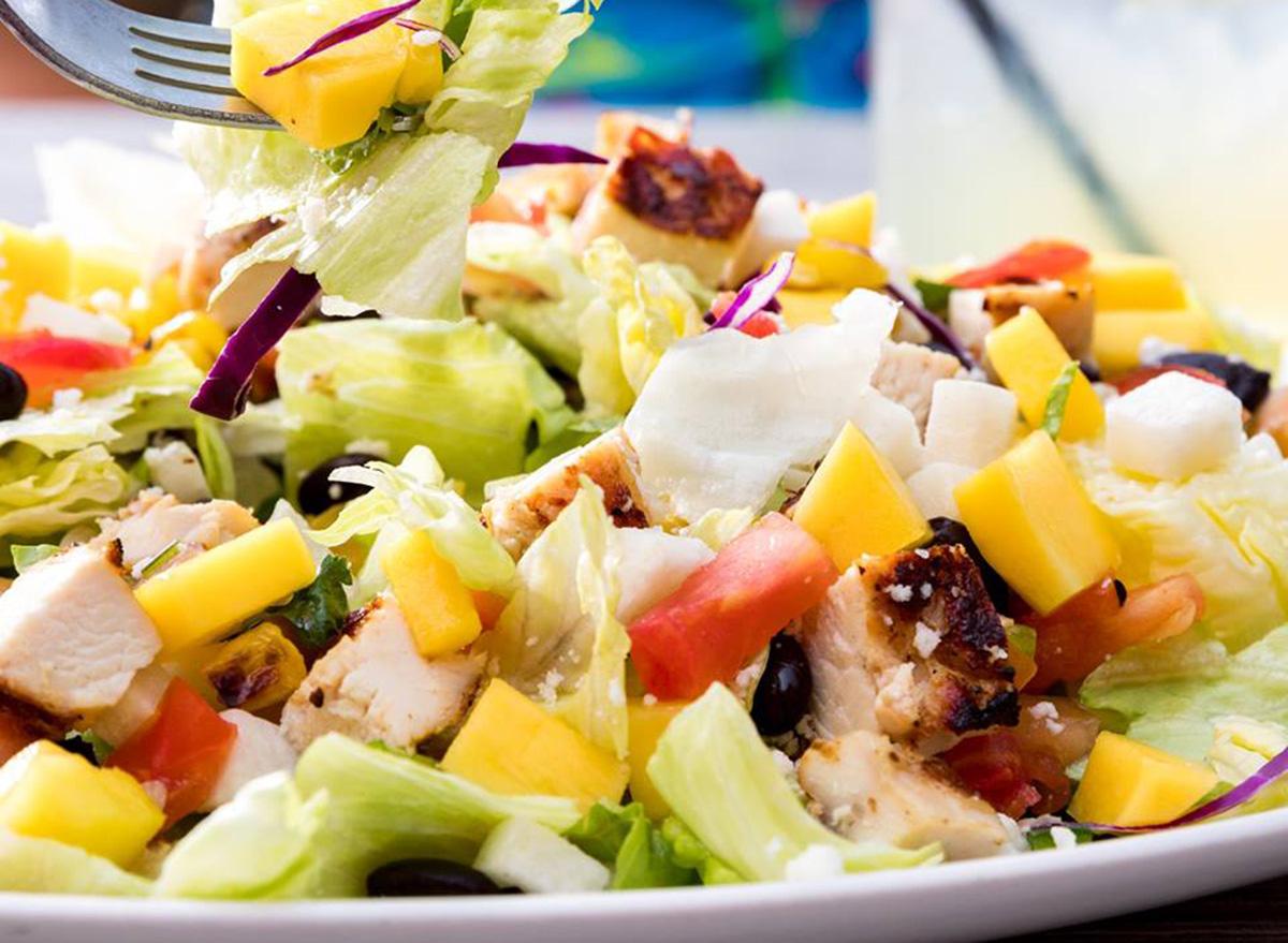 on the border mango chicken salad
