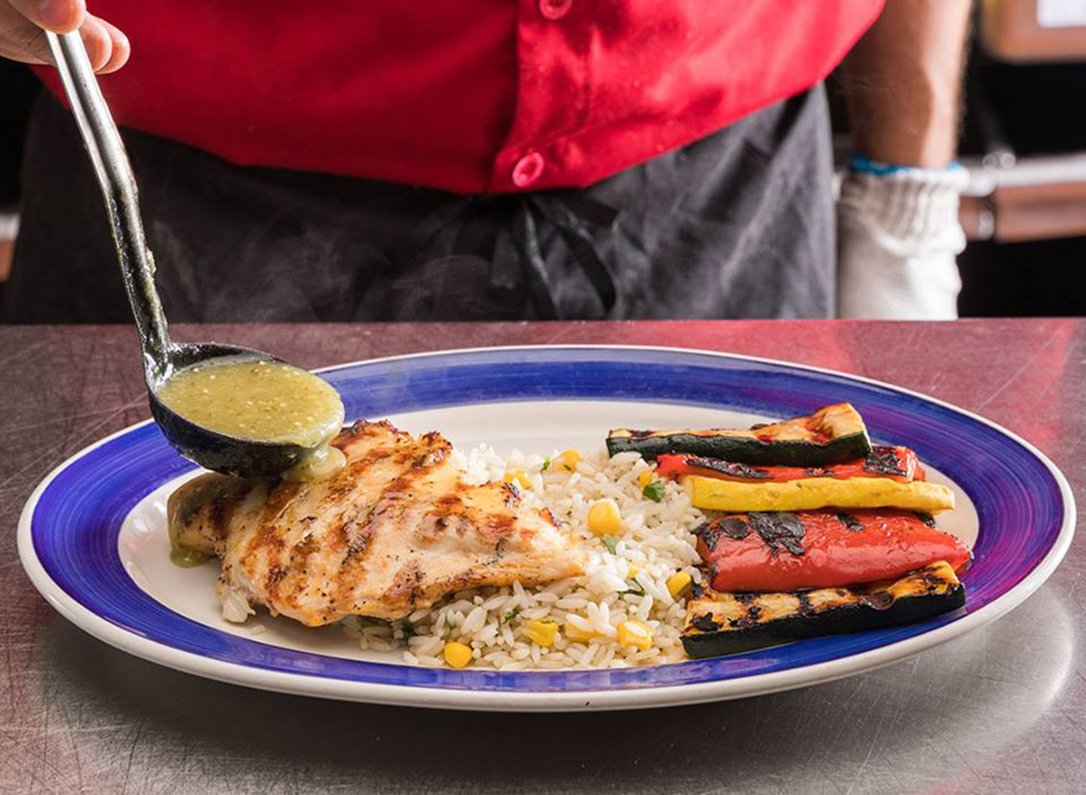 on the border mexican grilled chicken