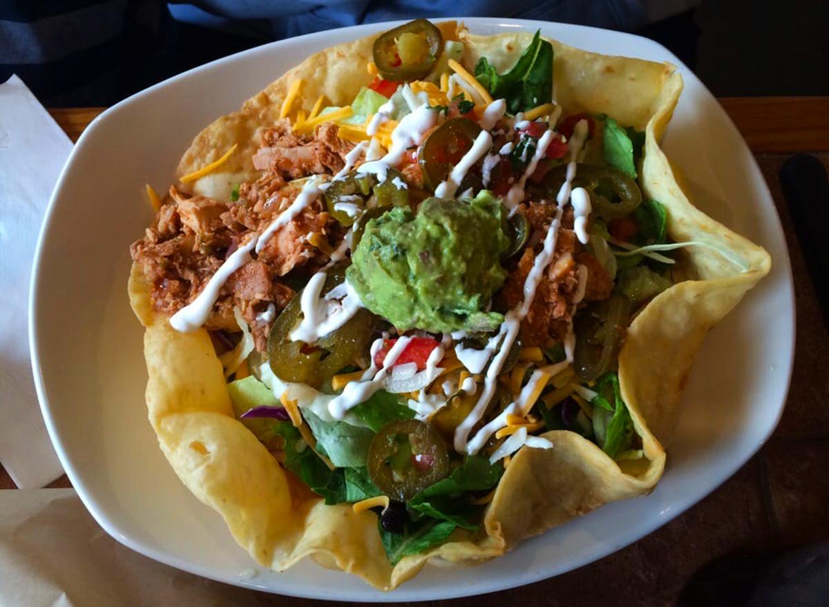 on the border taco salad