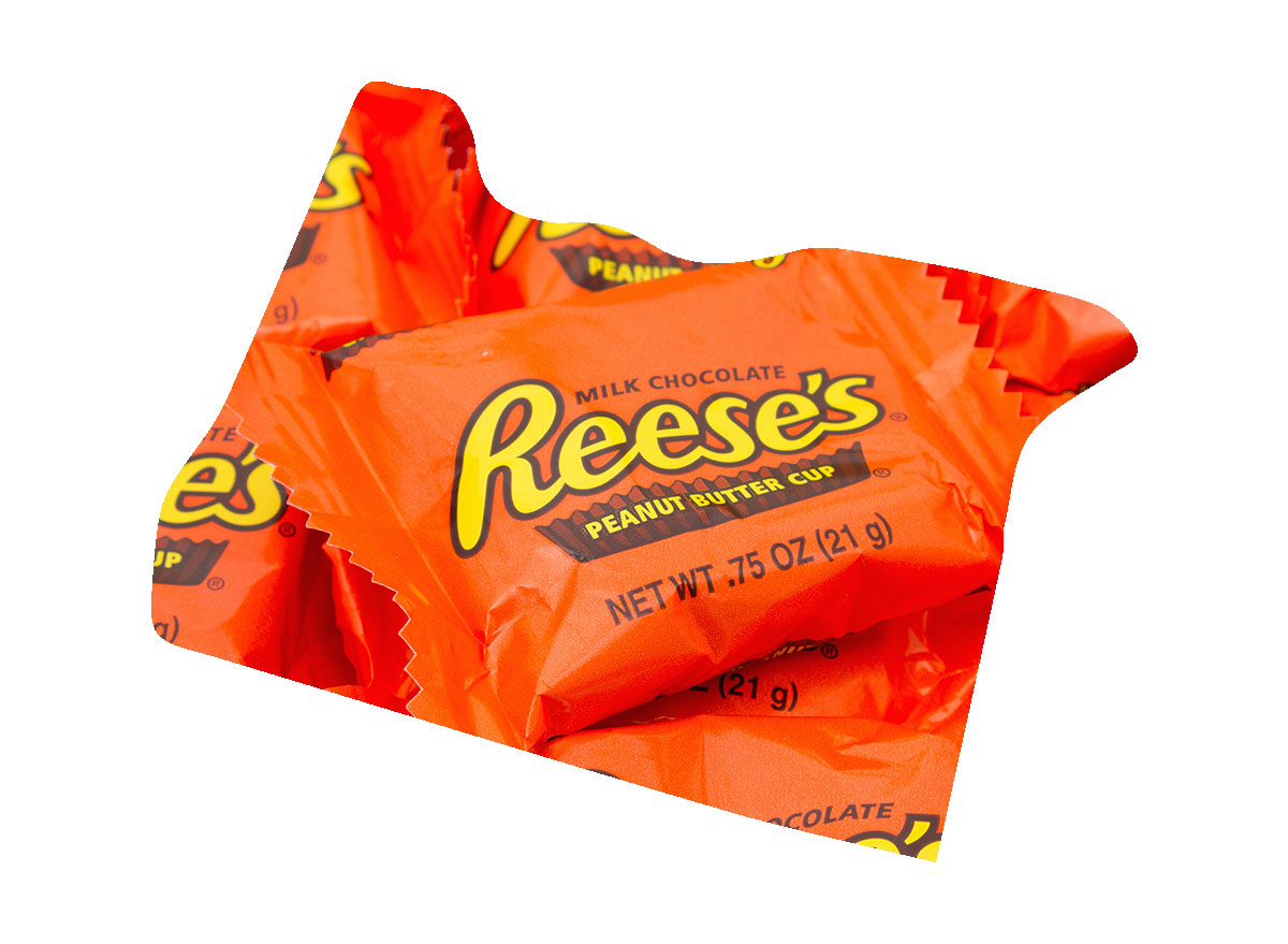 Oregon's favorite candy bar is Reese's Cups