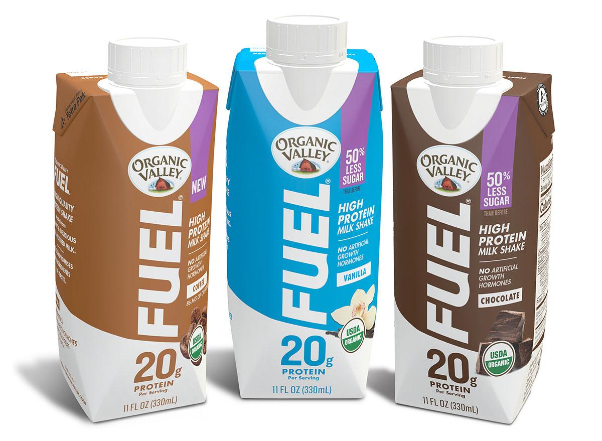 organic valley fuel protein shake