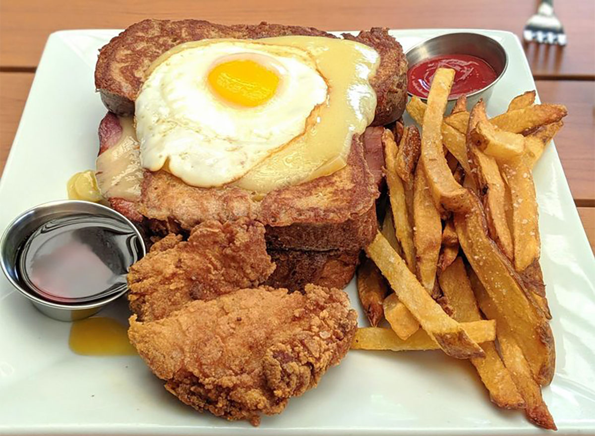 monte cristo sandwich with eggs from the original in wisconsin