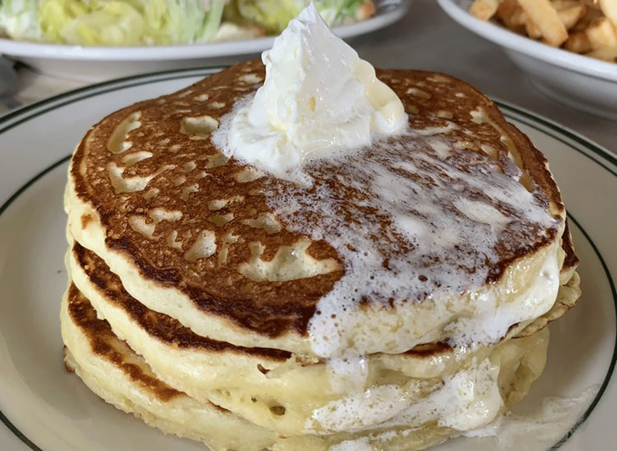 Pancakes at palace diner