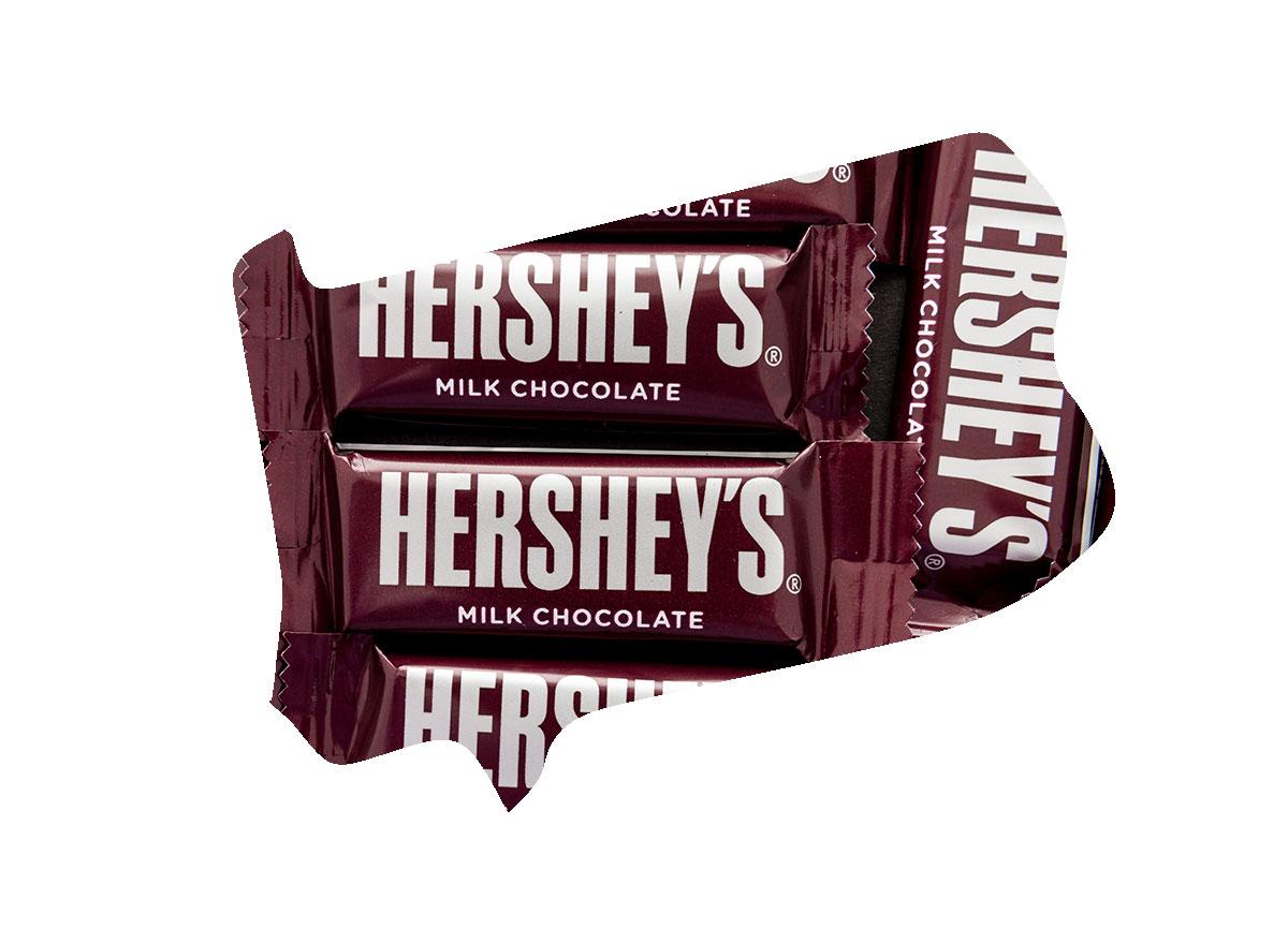 Pennsylvania's favorite candy bar is Hershey's Mini Bars
