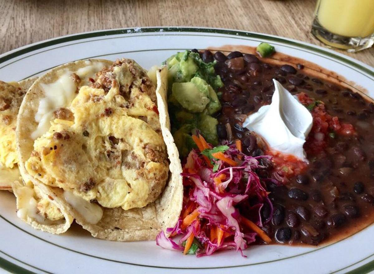 penny cluse cafe chorizo tacos