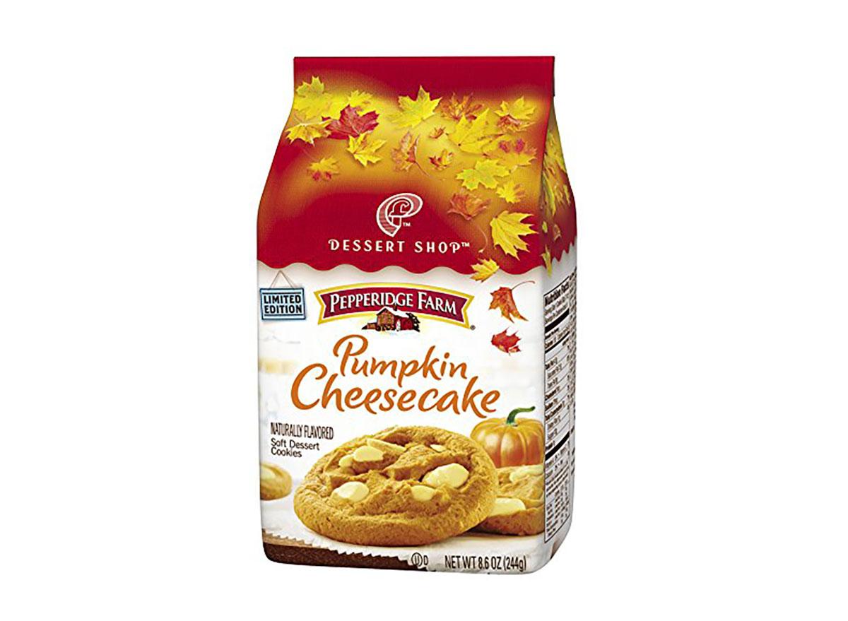 pepperidge farm pumpkin cheesecake cookies