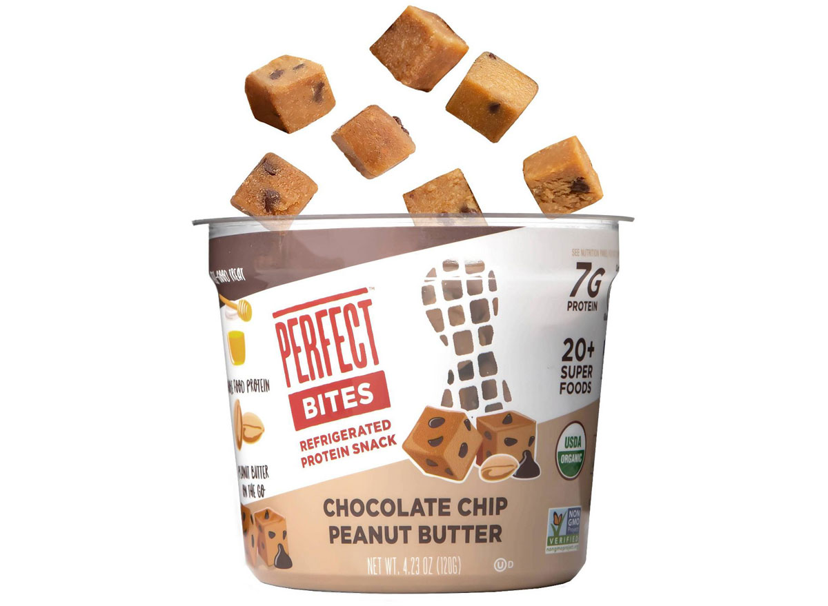 Perfect bites chocolate chip snack