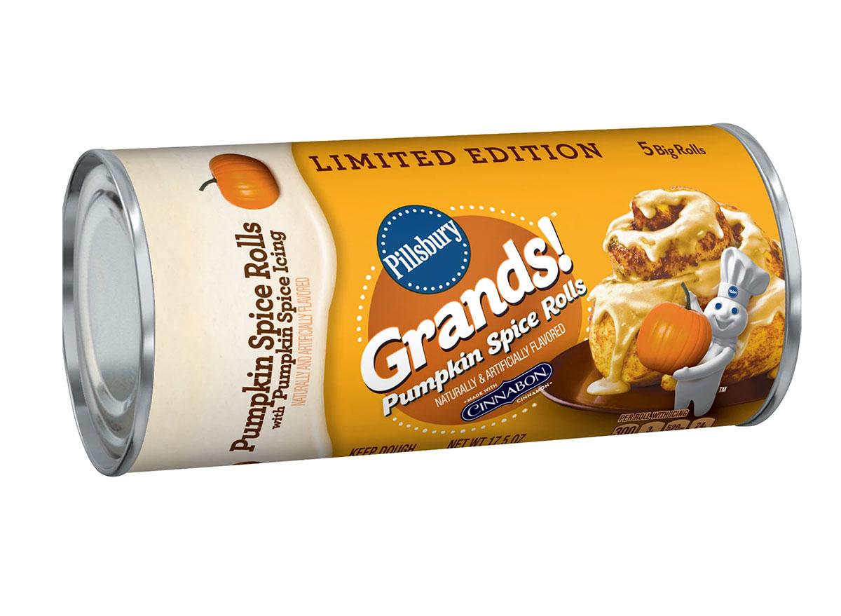 pumpkin spice grands rolls