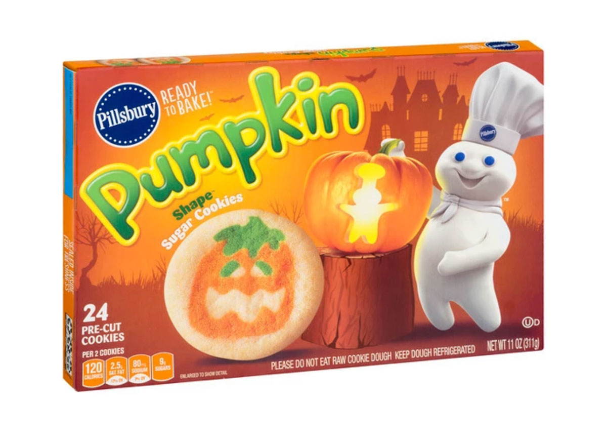 pillsbury pumpkin sugar cookies