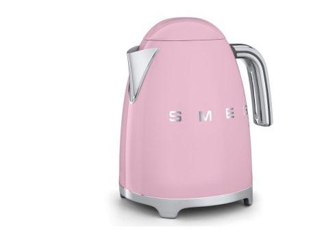 pink smeg electric kettle