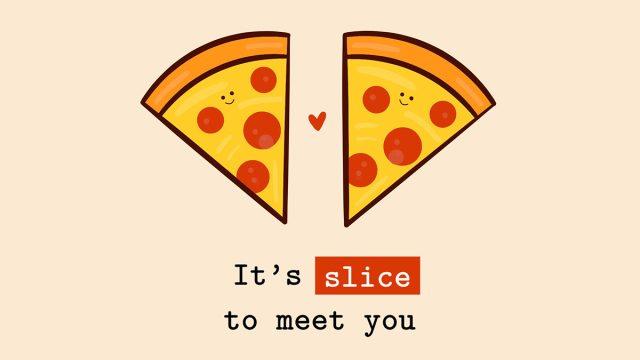 pizza quote graphic