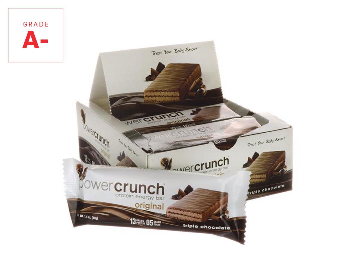 power crunch protein bar graded