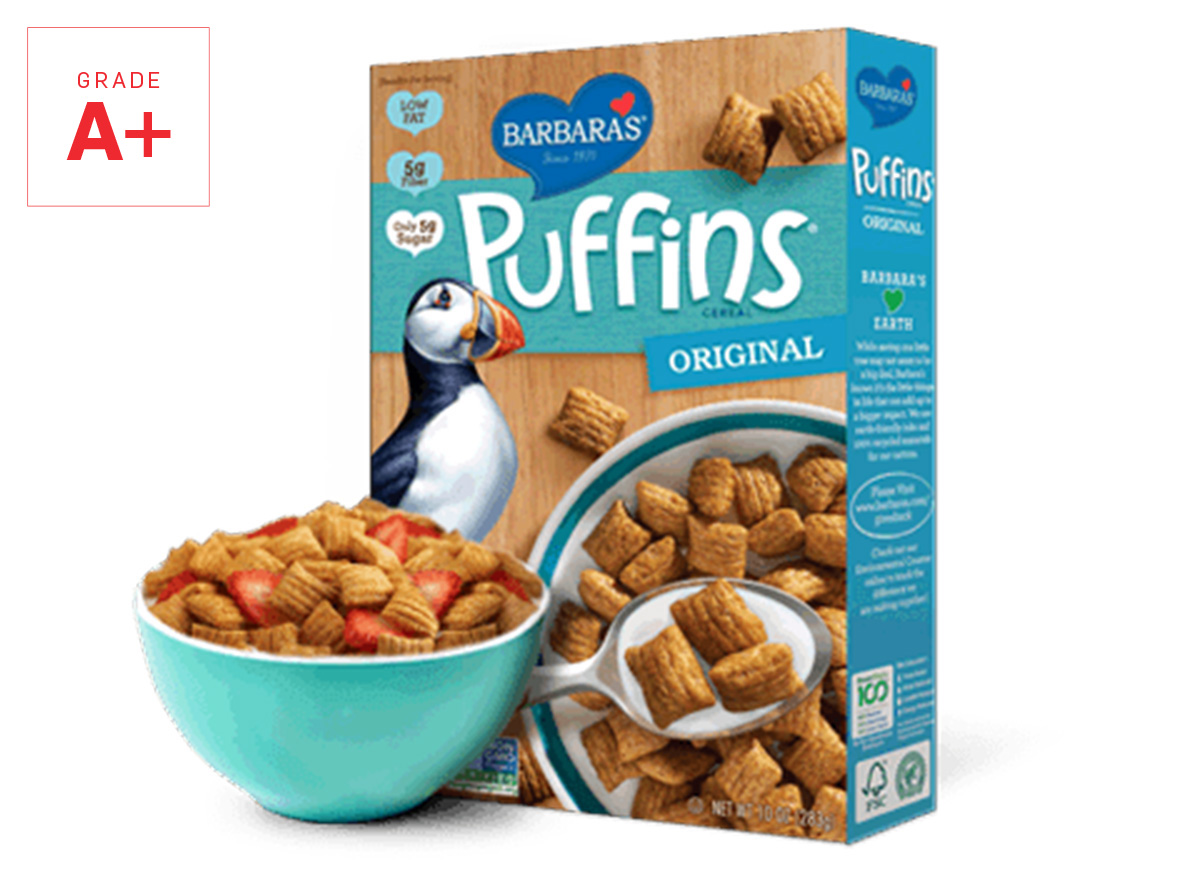 puffins cereal graded