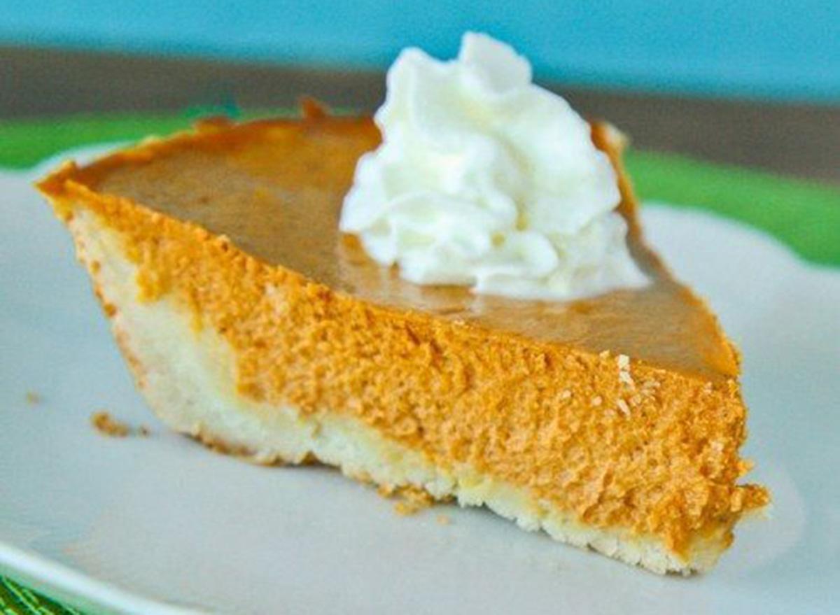 pumpkin pie gluten free