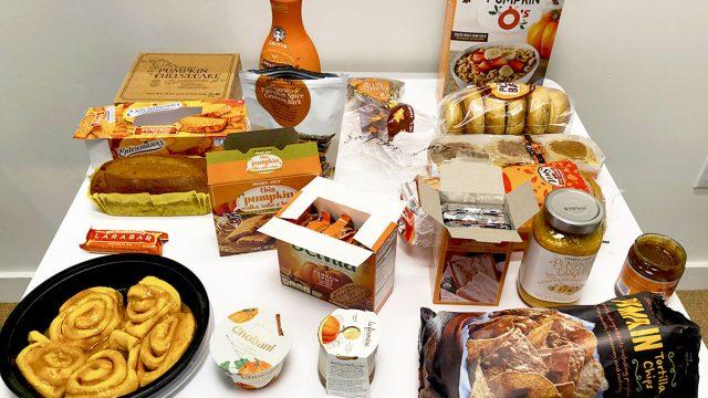 pumpkin flavored food taste test