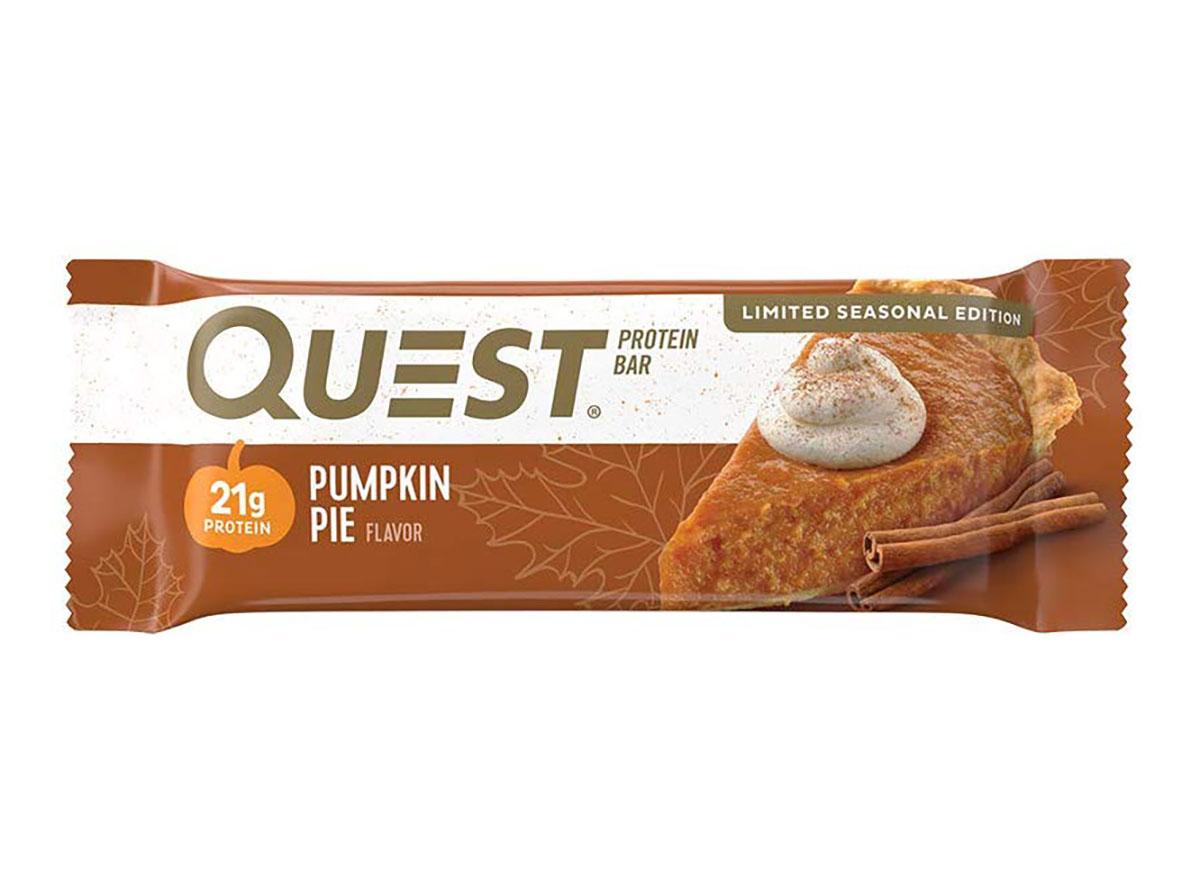 quest pumpkin pie protein bar