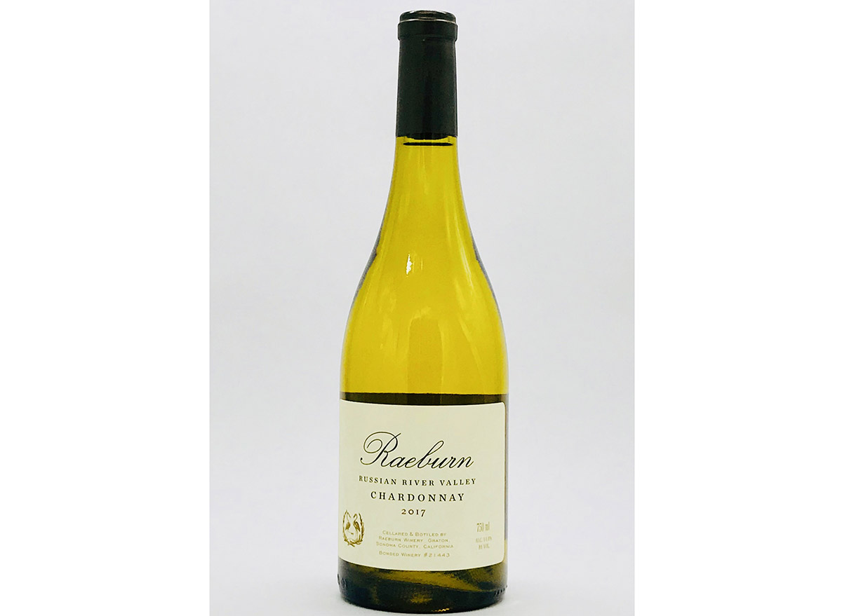 raeburn chardonnay in bottle