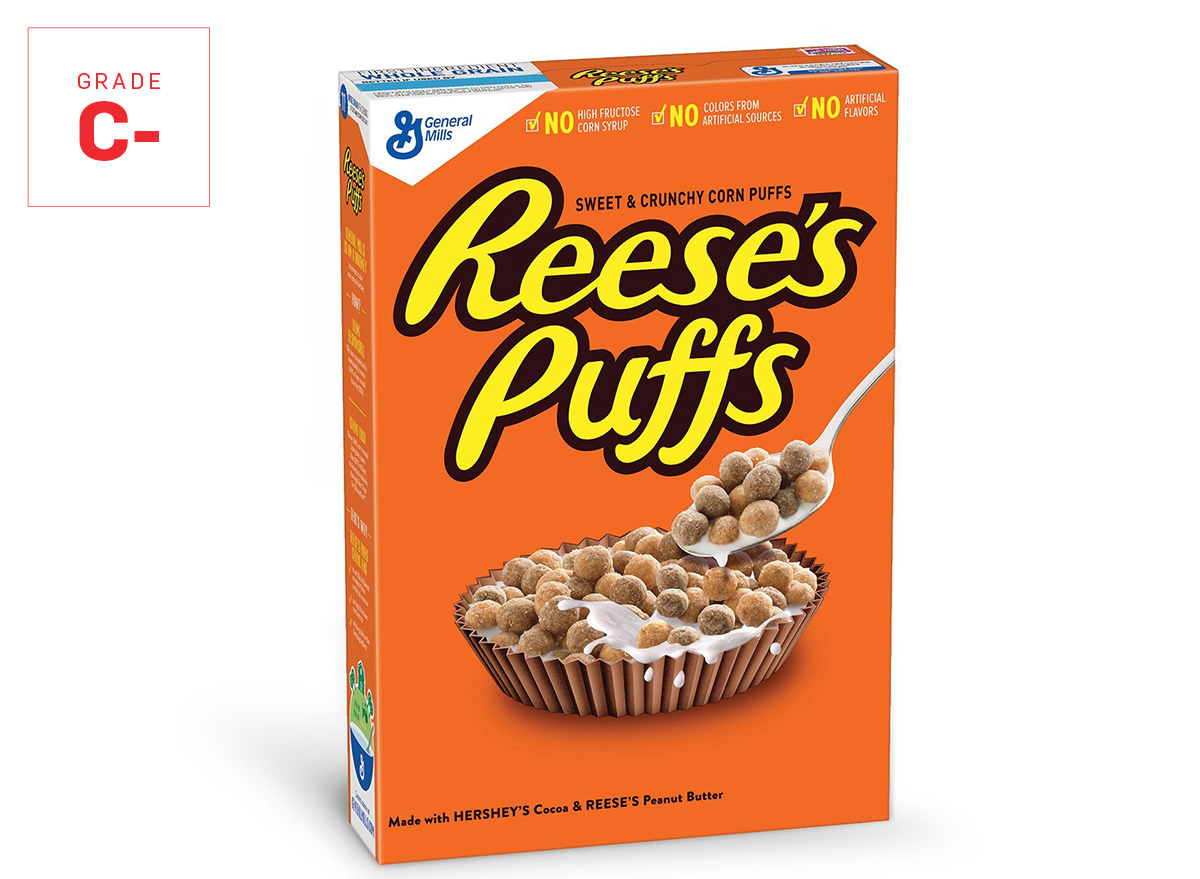 reeses puffs graded