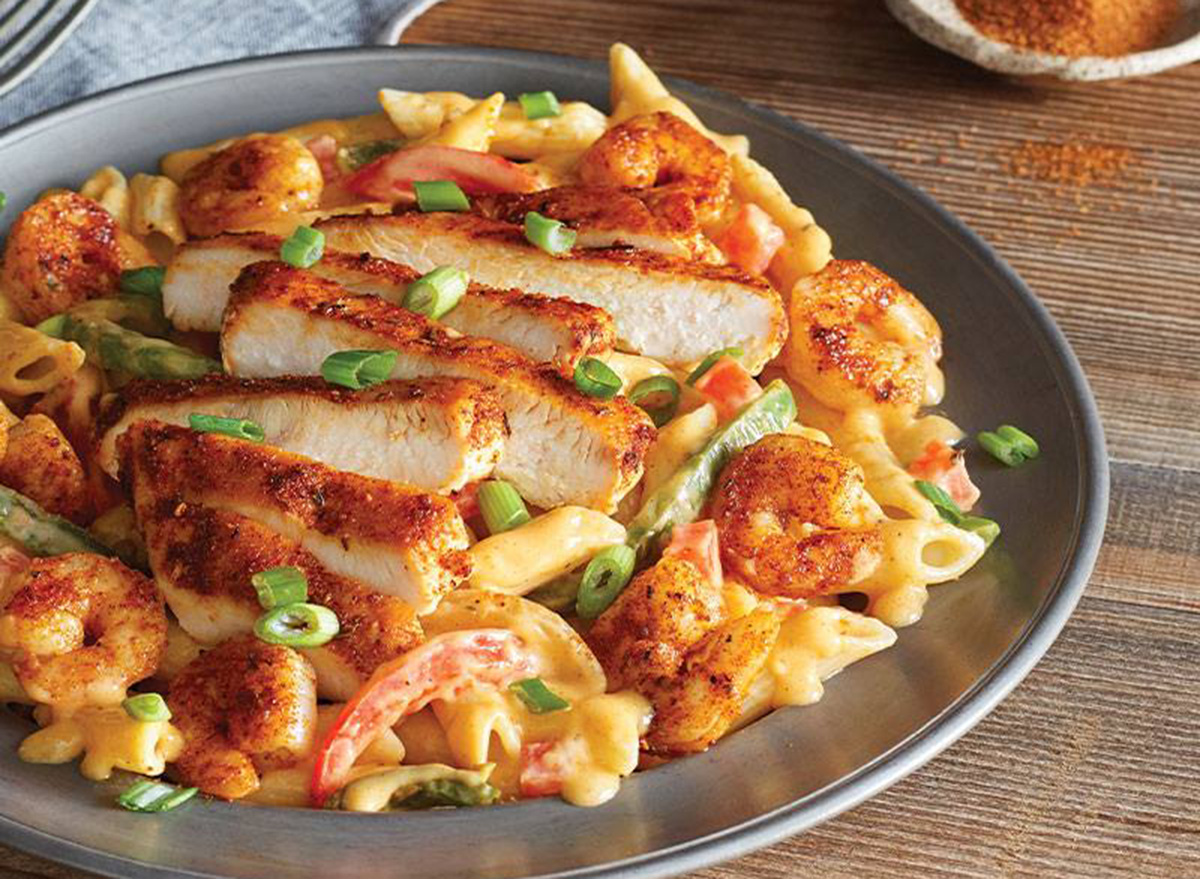 ruby tuesday chicken and shrimp pasta