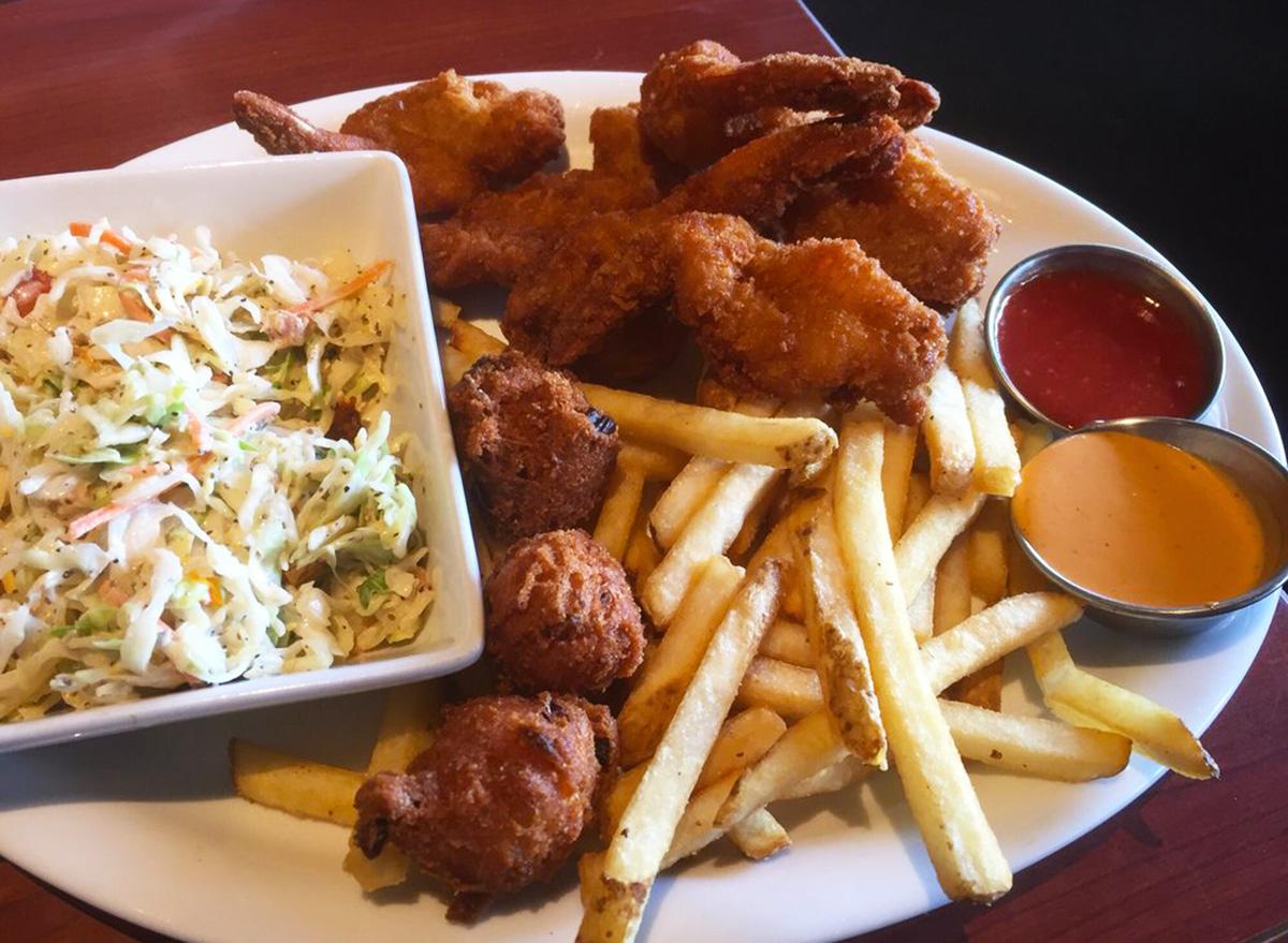 ruby tuesday crispy shrimp platter