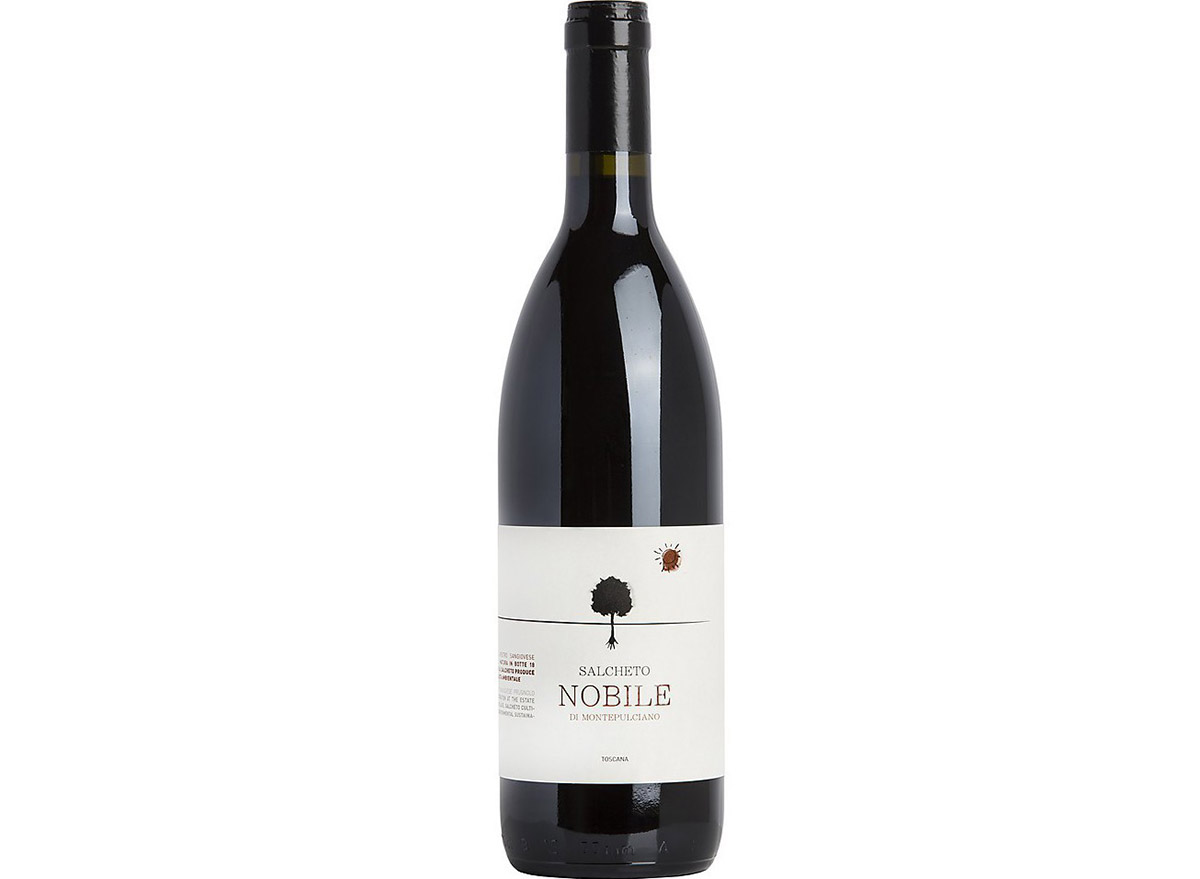 salchetto vino nobile in bottle