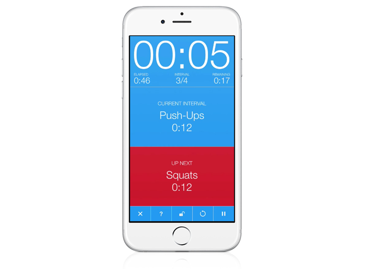 seconds pro app