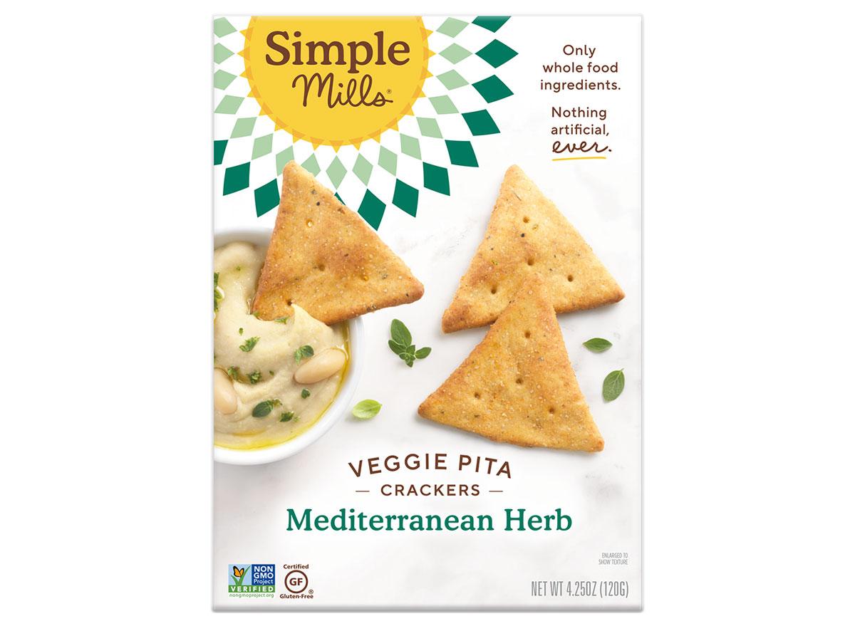 Simple mills veggie pita chips