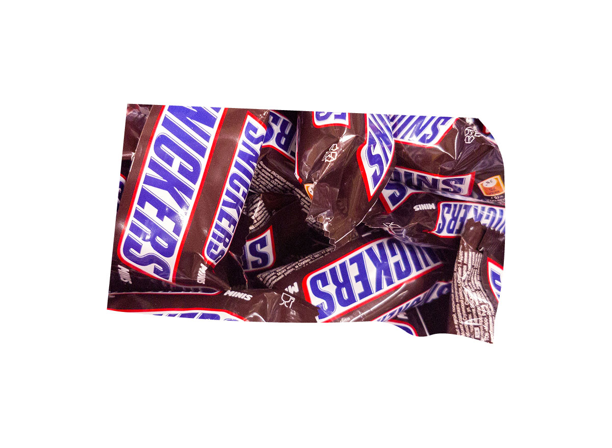 South Dakota's favorite candy bar is Snickers